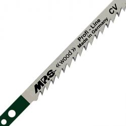 Stichsägenblätter - extra lang - Zahnteilung 4 mm - für Holz - 110/132