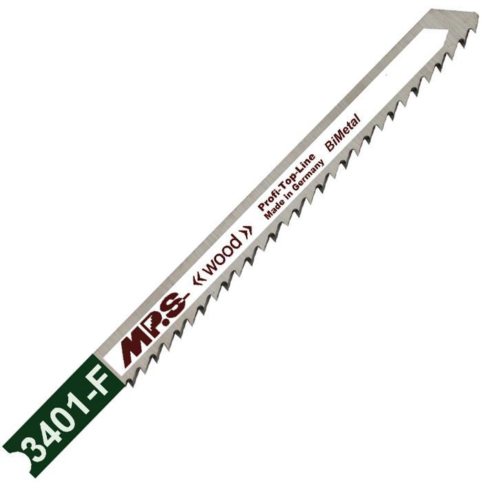 Stichsägeblätter - für Holz - 75/100 - Bimetall - Zahnteilung 2,5 mm