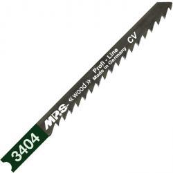 Stichsägeblätter - 75/100 - für Holz - Chrom Vanadium - Zahnteilung 4 mm