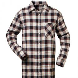 "Flannel Shirt ""OHIO"" - CRAFT COTTAGE - navy / light blue / red checkered"