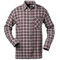 "Flannel Shirt ""NASHVILLE"" - CRAFT COTTAGE - gray / white / red checkered"