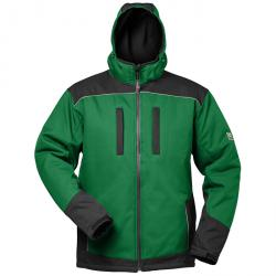 """Vinter Softshell Jacket """"Argos"""" - med huva - grön / svart - Elysee"""