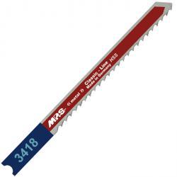 Stichsägeblätter - für Metall - 75/100 mm - Hochleistungs-Schnellstahl