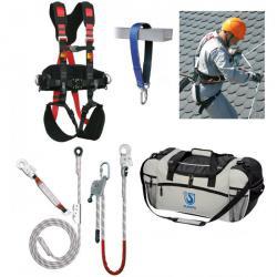 Auffanggurt Set 6 - für Dacharbeiten - Größe M-XL - 85-120 cm Taille
