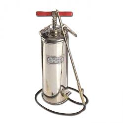 pompa a mano Illustrated - acciaio inox - 5 bar - 10 l