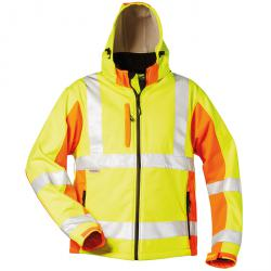 "Alta visibilità Softshell Jacket ""ADAM"" - fluo giallo / arancio - S-XXXL"