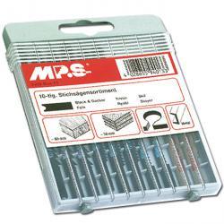 Stichsägeblatt-Sortiment - 10-teilig - für Metall und Holz