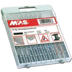 Stichsägeblatt-Sortiment - für Holz und Metall - 10-teilig