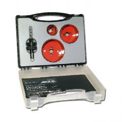 Lochsägen-Sortiment - für Elektriker - 4-teilig -