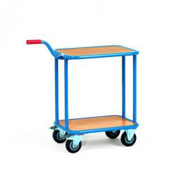 Handle Roller - carrying capacity 200 kg - powder coated - gentian blue