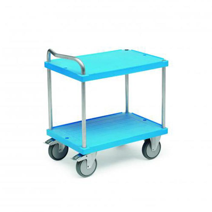 Table trolley - load capacity 500 kg - variable floor heights - aluminum bracket