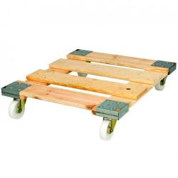 Wood rolling plate - load 500 kg