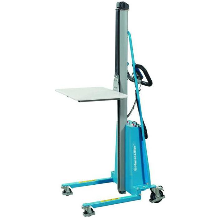 Minilifter - carrying capacity 100 kg - Table width 600 mm