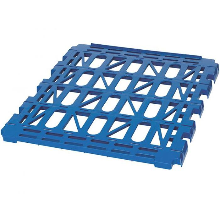 Plastic partitions - gentian blue - for 724x815 mm