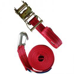 """Zurrgurt """"MT 2000"""" - 2-teilig - Farbe rot - 35 mm breit"""