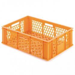 Brotkästen - gelb oder braun - Kunststoff