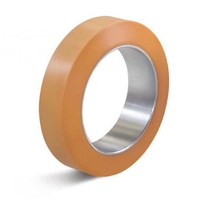 Reifen - Vulkollan-Bandage - zylindrischer Sitz - Außen-Ø 100 bis 750 mm - Tragkraft 280 bis 4650 kg