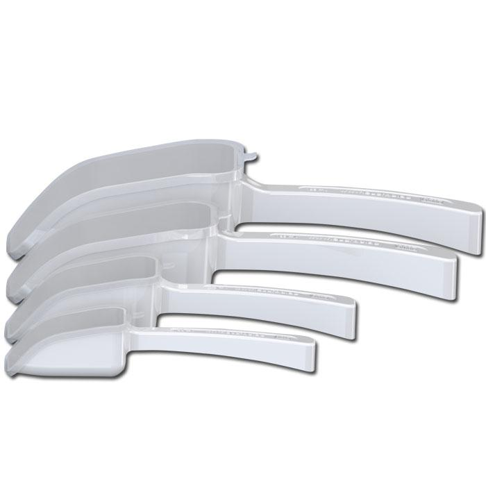 SteriPlast Probenschaufel - mit/ohne Deckel - 25-1000 ml - polystyrene