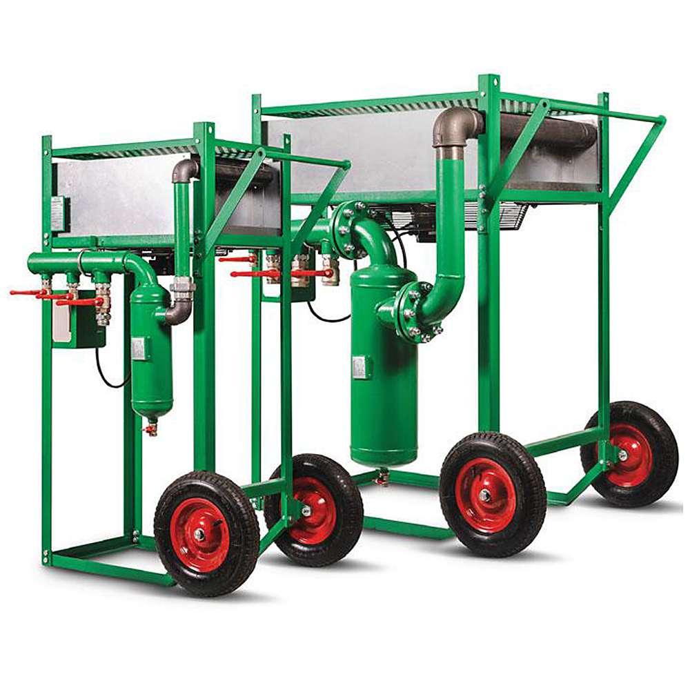 Druckluft Nachkühler ACP - bis 20 m³/min. - Druckluft Antrieb Nachkühler