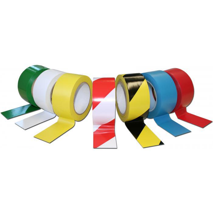 Floor marking tape - self adhesive - 33 m long