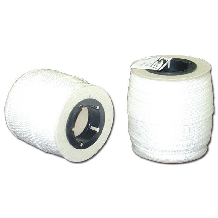 Richt- und Maurerschnur - Farbe weiß - 100 m lang