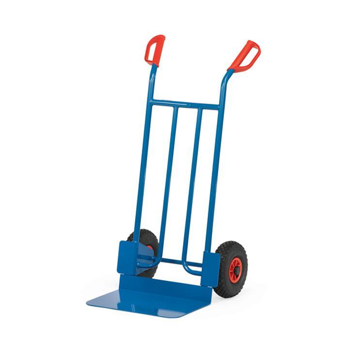 Stahlrohrkarre - Tragkraft 250 kg - blau RAL 5007