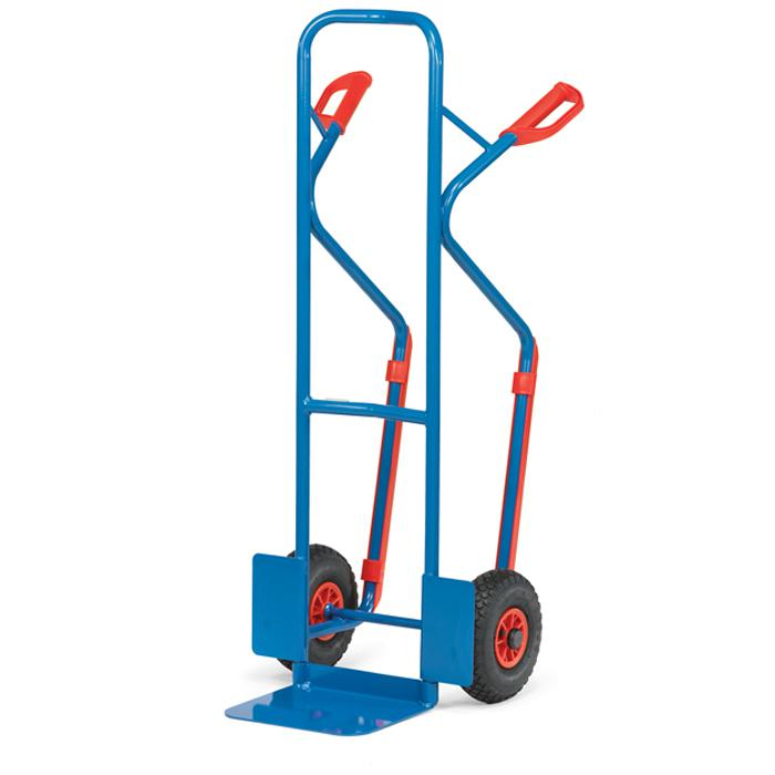 Stahlrohrkarre - Tragkraft 300 kg - blau RAL 5007