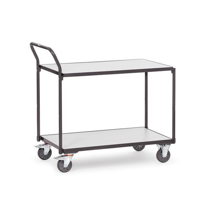 ESD Table trolley - Capacity 250 kg - with 2 shelves