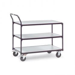 ESD Table trolley - with 3 floors - carrying capacity 300 kg