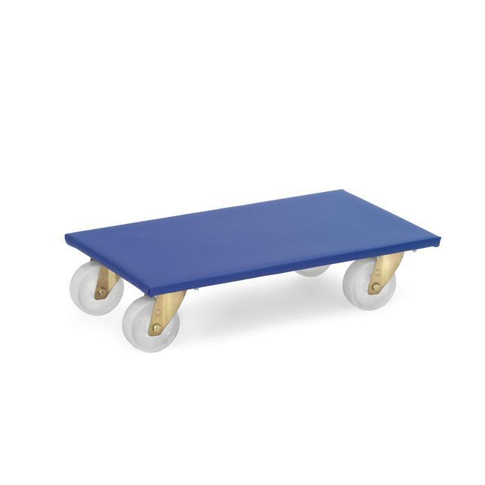 Roller Mobili set di 2 - poliammide o in gomma antiscivolo rivestimento protettivo