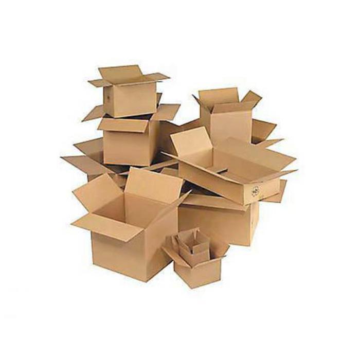 bo te en carton ondul pliable charge max de 20 30 kg prix par paquet. Black Bedroom Furniture Sets. Home Design Ideas