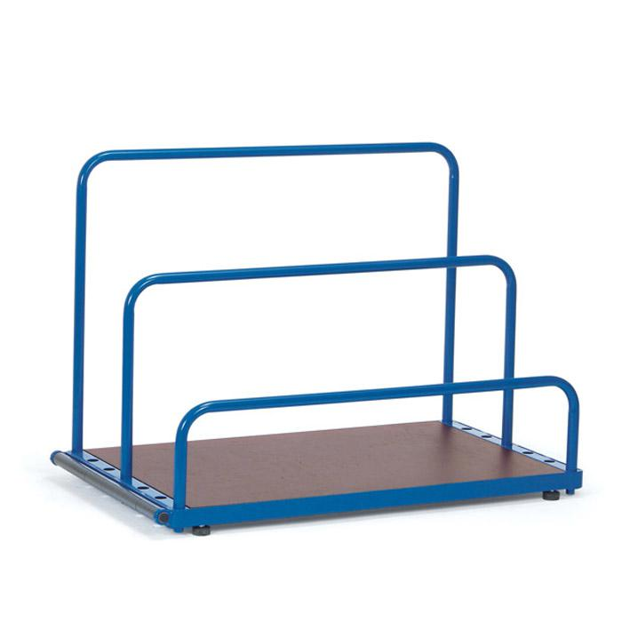 Plate rack - 4 rubber feet - 7 adjustment for insertion brackets