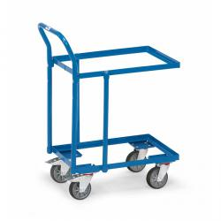 Floor Roller with tubular push handle - open frame - 250 kg