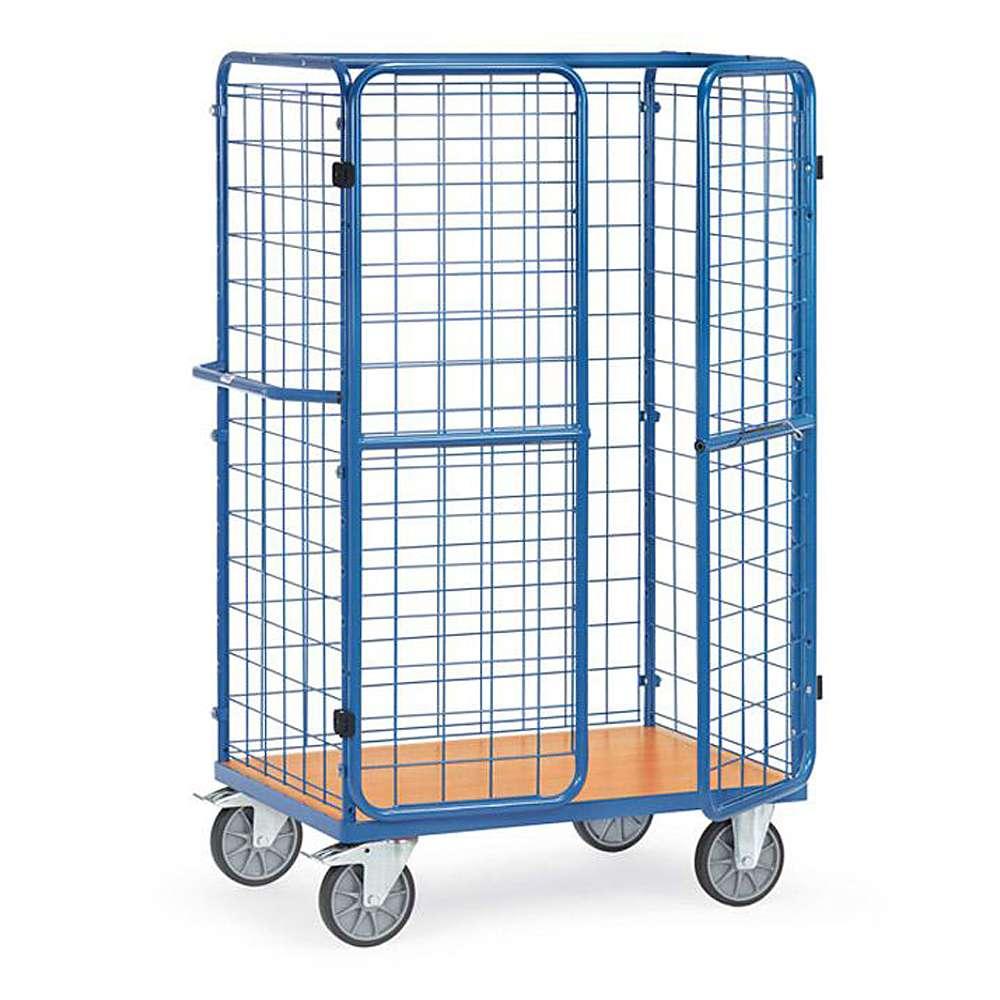 auto Package - 3 fili pareti in rete - 600 kg - doppie porte
