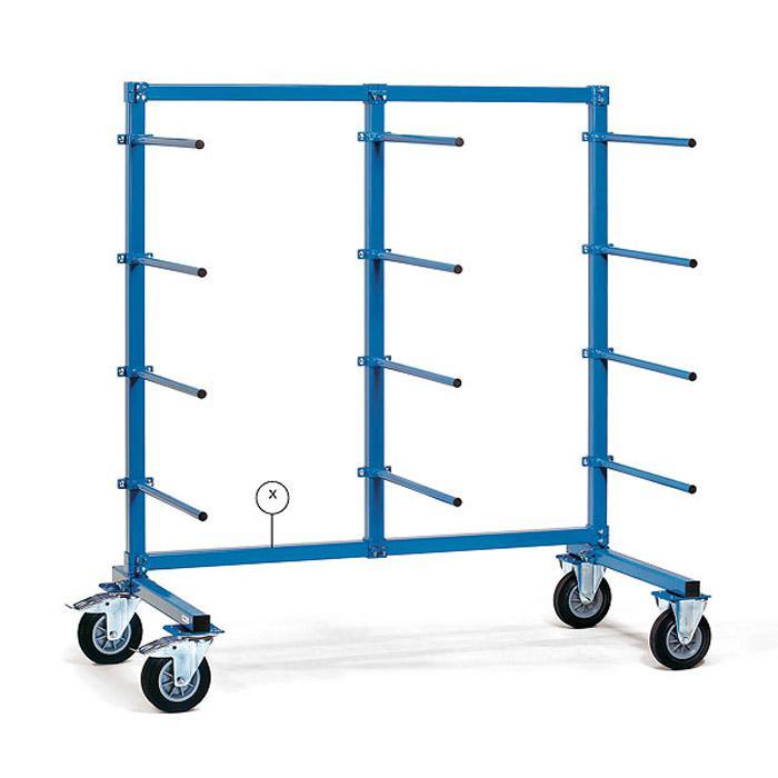 entretoise horizontale pour espars porteuses - 1200-2000 à long