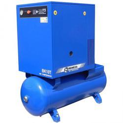 Schraubenkompressor - 7,5 kW - 270 L Kessel - 10 bar - 1000 l/min Liefermenge