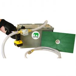 Extraktionsset ELEPHANT - med platt sugmatta - pumphjulspump utan drivning - flödeshastighet 60 l / min - 4 bar
