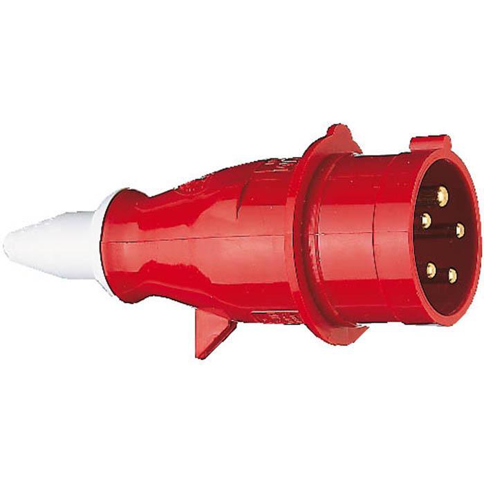 CEE-Stecker/-Kupplung - 230 V bis 400 V - 16 A bis 32 A - blau oder rot