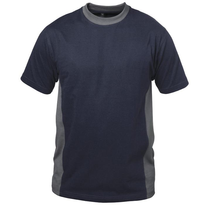 "T-tröja ""BARCELONA"" - marin / grå - 100% bomull - Storlek S-XXXL"