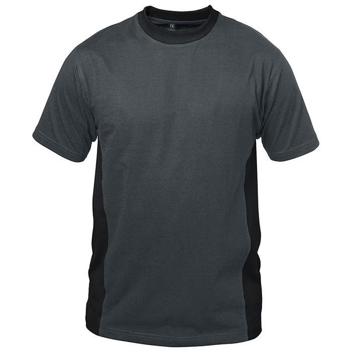 "T-tröja ""Tenerife"" - grå / svart - 100% bomull - Storlek S-XXXL"