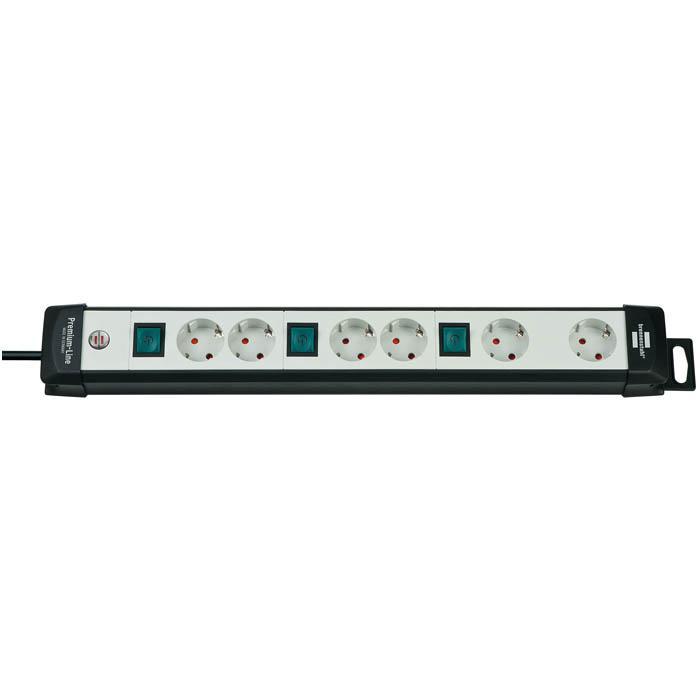 Premium-Line Technik Steckdosenleiste - H05VV-F3G1.5