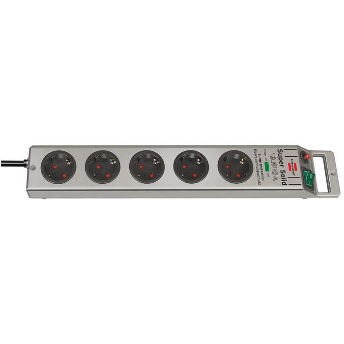 Super-Solid 13.500 A Überspannungsschutz-Steckdosenleiste