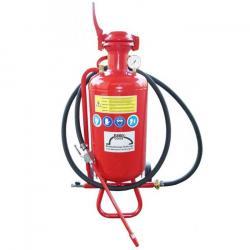 Sabbiatrice professionale - mobile - caldaia da 25 litri - consumo d'aria da 500 a 800 l / min da 4 a 6 bar