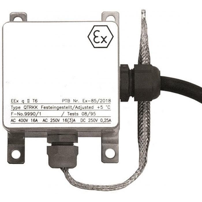 Ex-Temperaturregler - Typ QTRKK - mit Fixwert - 400 V 16 A - IP 54