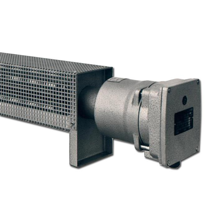 Ex-Raumheizgerät mit Schutzkorb - Typ RH1 - 230 V - Temperaturklasse T2/ T3