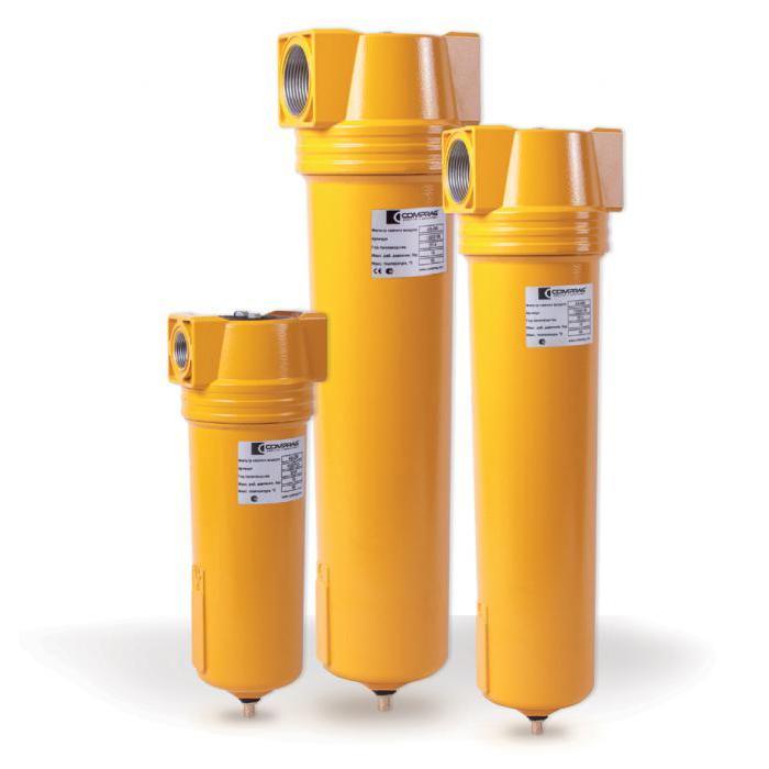 Zyklonabscheider für Druckluftleitungen AS Serie - Luftvolumenstrom 1,2-46,0 m³/min