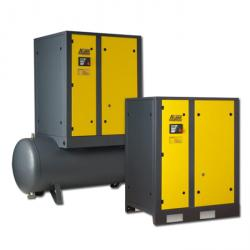 Screw compressors A-Series - driving power of 18.5 kW - air flow rate up to 3.1 m3 / min