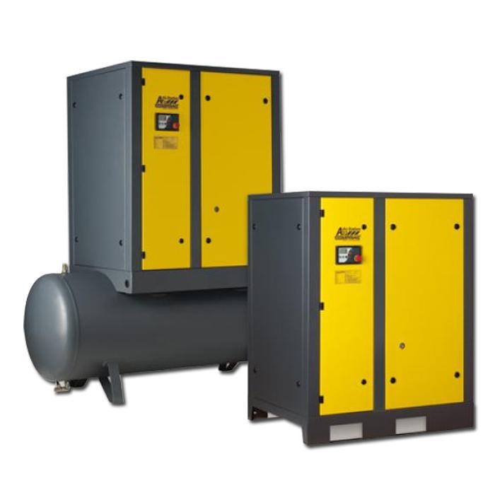Schraubenkompressoren A-Serie - Antriebsleistung 18,5 kW - Luftvolumenstrom bis 3,1 m3/min