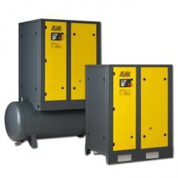 Screw compressors A-Series - Drive power 11 kW - air flow rate up to 1.6 m3 / min