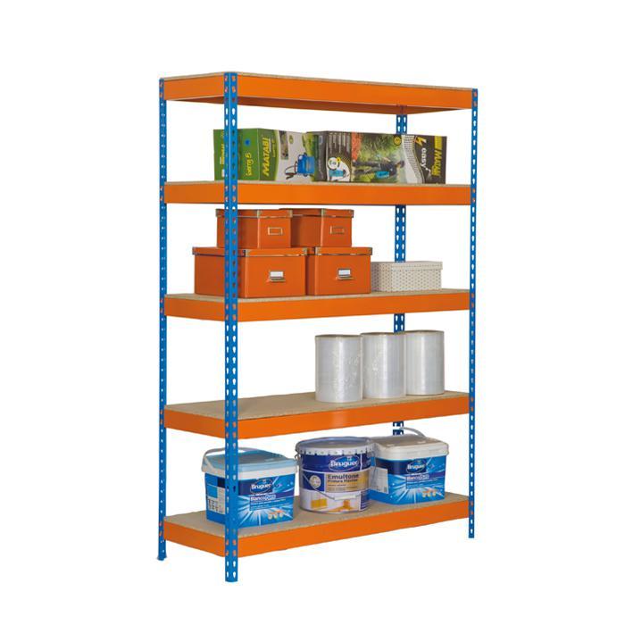 Simonrack Simonforte 2409 4 Chipboard Metall Orange, Blau